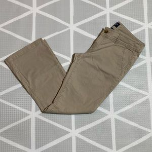 American Eagle Stretch Boot Khakis